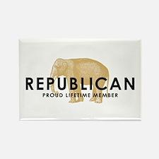 Proud Republican Rectangle Magnet