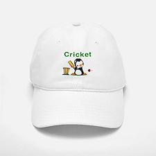 Cricket Penguin Baseball Baseball Cap