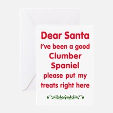 Good Clumber Spaniel Greeting Cards