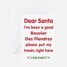 Good Bouvier Des Flandres Greeting Cards