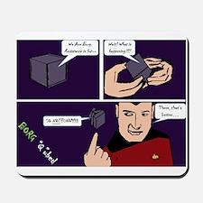 "Borg ""Q""bed Mousepad"