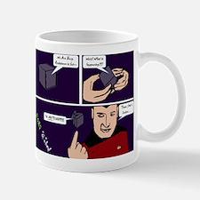 "Borg ""Q""bed Mugs"