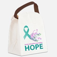 Hope for PCOS Canvas Lunch Bag