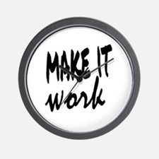 Make it Work Wall Clock