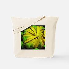 Yellow sunflower bud Tote Bag