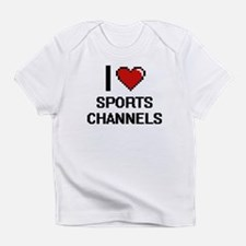 I love Sports Channels digital desi Infant T-Shirt
