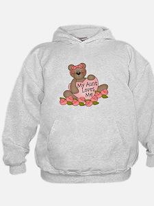 My Aunt Loves Me CUTE Bear Hoodie