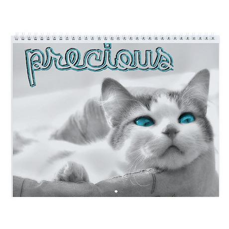 Precious Cats Wall Calendar