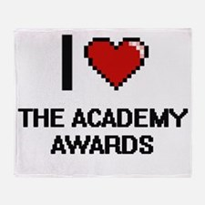 I love The Academy Awards digital d Throw Blanket