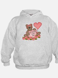 My Cousins Love Me CUTE Bear Hoodie