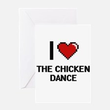 I love The Chicken Dance digital de Greeting Cards