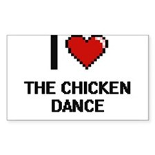 I love The Chicken Dance digital design Decal