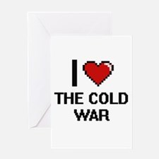 I love The Cold War digital design Greeting Cards