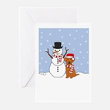 Vizsla Howling Holiday Greeting Cards (Pk of 10)