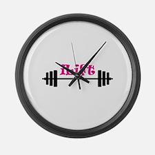 I LIFT Large Wall Clock