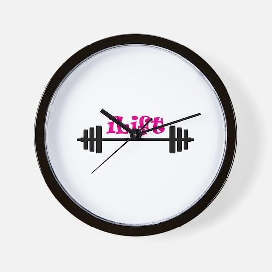 I LIFT Wall Clock