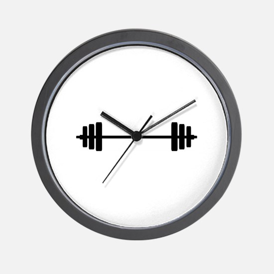 WEIGHTS Wall Clock