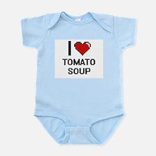 I love Tomato Soup digital design Body Suit