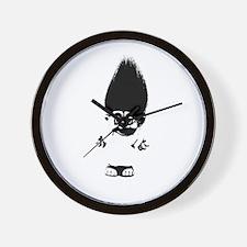 Cute Troll Wall Clock