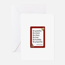 Young women Greeting Cards (Pk of 20)