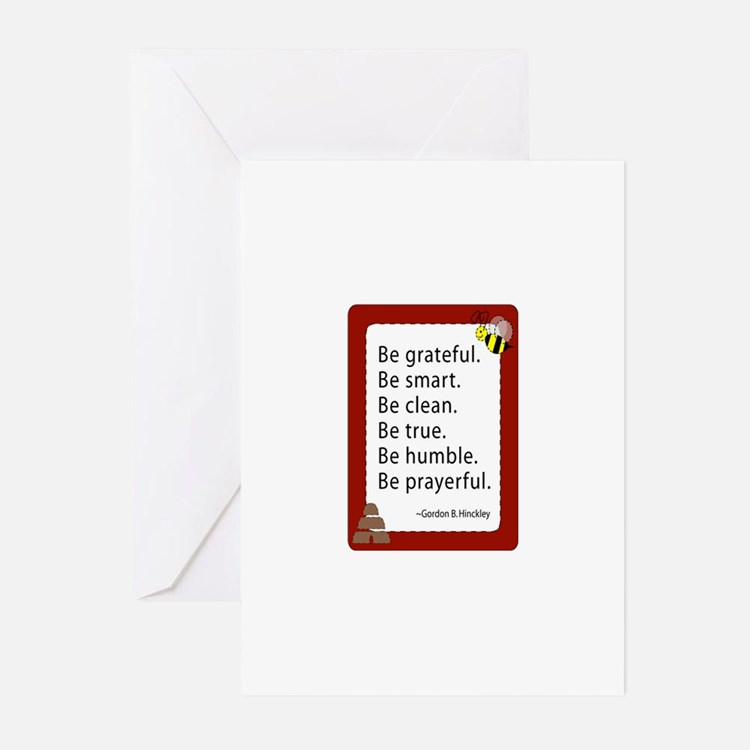 Cute Temples churches Greeting Cards (Pk of 20)