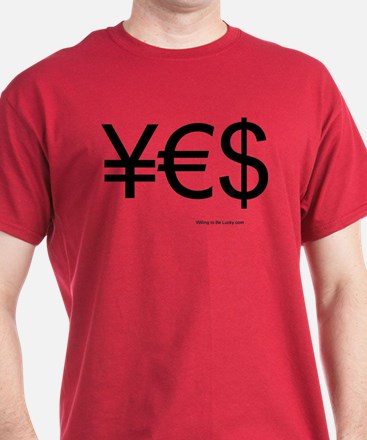 moneyblack2 T-Shirt