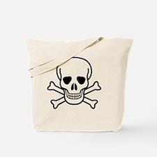 Skull and Bones Tote Bag