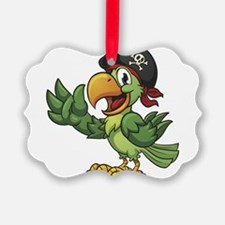 Pirate-Parrot Ornament