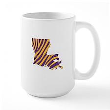 Louisiana Tiger Stripes Mug