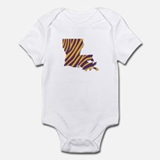 Louisiana Tiger Stripes Body Suit