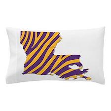 Louisiana Tiger Stripes Pillow Case