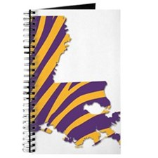 Louisiana Tiger Stripes Journal