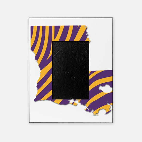 Louisiana Tiger Stripes Picture Frame