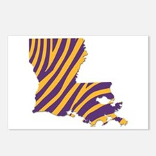 Louisiana Tiger Stripes Postcards (Package of 8)