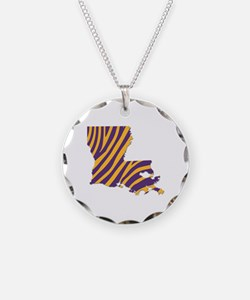 Louisiana Tiger Stripes Necklace