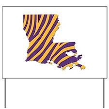 Louisiana Tiger Stripes Yard Sign
