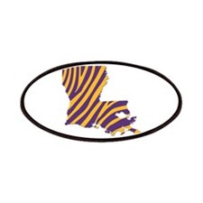 Louisiana Tiger Stripes Patch
