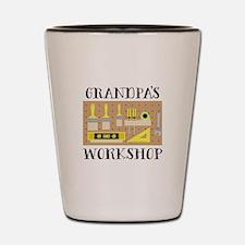 Grandpas Workshop Shot Glass