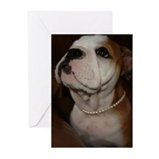 Bulldogs Greeting cards (Pk of 10)