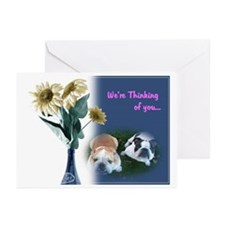 Bulldog Greeting Cards (Pk of 10)
