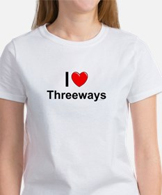 Threeways Women's T-Shirt