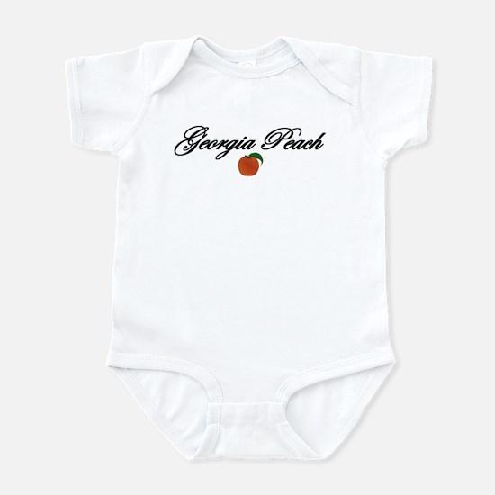 Georgia Peach Infant Bodysuit