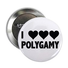 """I love polygamy 2.25"""" Button (10 pack)"""