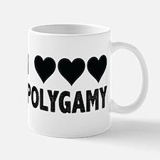 I love polygamy Mugs