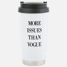 More issues than Vogue Stainless Steel Travel Mug