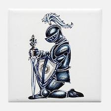 Cute Knight Tile Coaster