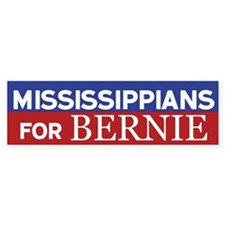 Mississippians for Bernie Bumper Bumper Sticker