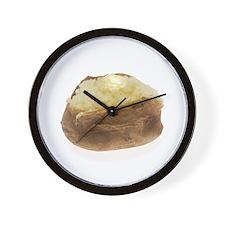 Baked Potato Wall Clock