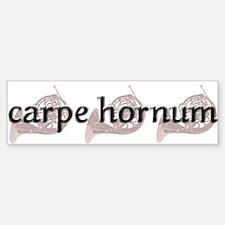 Carpe Hornum Bumper Bumper Bumper Sticker