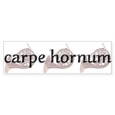 Carpe Hornum Bumper Bumper Sticker